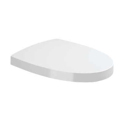 Copriwater rettangolare Originale per serie sanitari Pop Art SANITANA termoindurente bianco