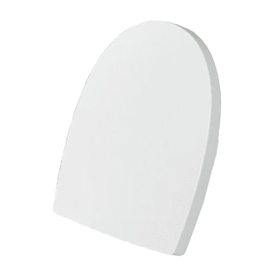 Copriwater quadrato Dedicato per serie sanitari Pop SANITANA plastica termoindurente bianco