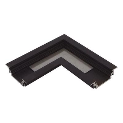 Connettore per profilo strisce led, nero, 2 m