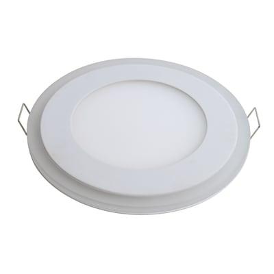 Faretto fisso da incasso tondo Click 2 posizioni in alluminio, bianco, diam. 18 cm LED integrato 1650LM IP20 INSPIRE