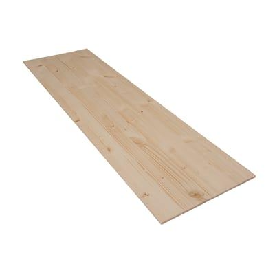 Tavola legno lamellare abete 1° scelta L 100 x H 30 cm Sp 7 mm