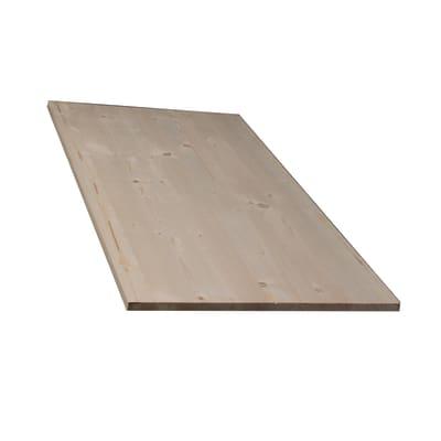 Tavola compensato di legno abete 1° scelta L 60 x H 40 cm Sp 18 mm