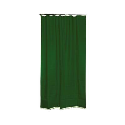 Tenda da sole ad anelli 150 x 270 cm verde
