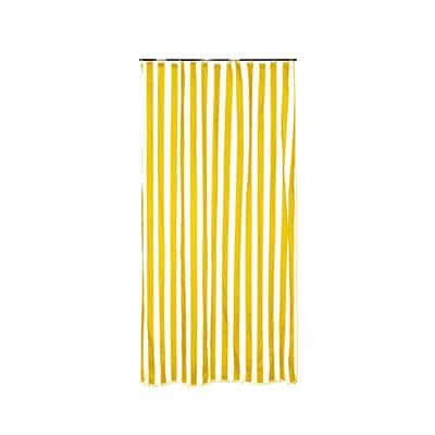 Tenda da sole ad anelli 150 x 350 cm giallo