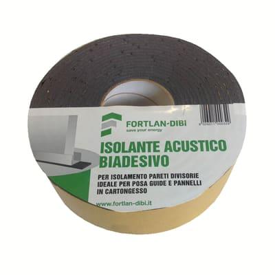 Isolante acustico FORTLAN Biadesivo 0.16 x 0.16 m, Sp 3 mm,