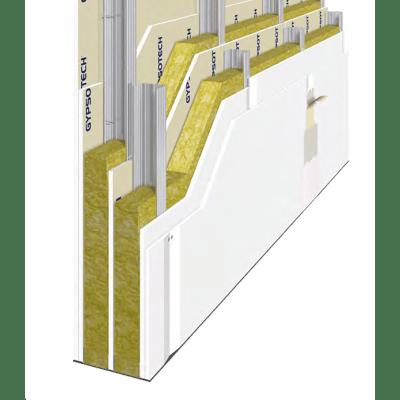 Lastra cartongesso FASSA BORTOLO 200 x 120 cm, Sp10 mm