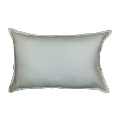 Cuscino Lino bianco 60x