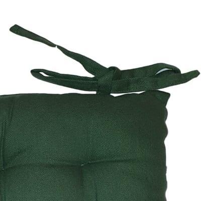 Cuscino per sedia 16 Punti verde 38x38 cm