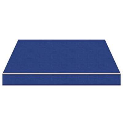 Tenda da sole a bracci estensibili manuale TEMPOTEST PARA' L 2.4 x H 2 m Cod. 10 blu