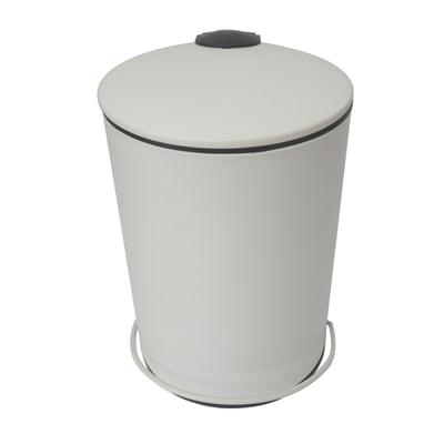 Pattumiera da bagno a pedale Icone bianco 3 L