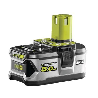 Batteria RYOBI RB18L50 in litio 18 V 5 Ah