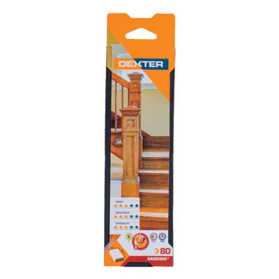 Cuneo per pomiciatura per legno / cartongesso / vernice DEXTER 70 x 225 x 25 mm
