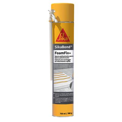 Schiuma poliuretanica SIKA SikaBond FoamFix+ giallo 300 ml