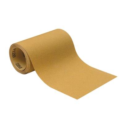 Rotolo di carta abrasiva 3M Sandblaster™ per legno / vernice grana 120