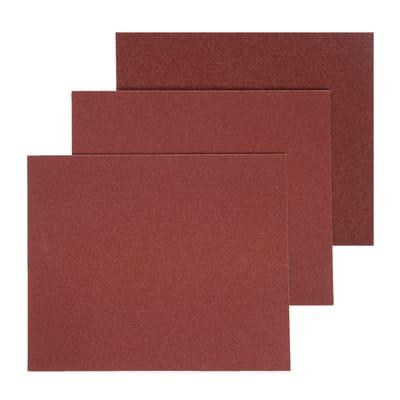 Carta abrasiva DEXTER 856097 per legno grana 180, 5 pezzi
