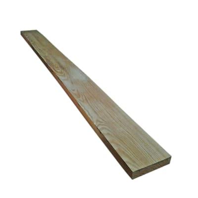 Tavola rettangolare in abete grezzo 2000 x 100 x 22 mm