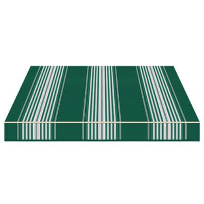Tenda da sole a bracci estensibili manuale TEMPOTEST PARA' L 240 x H 210 cm avorio, verde Cod. 638/5