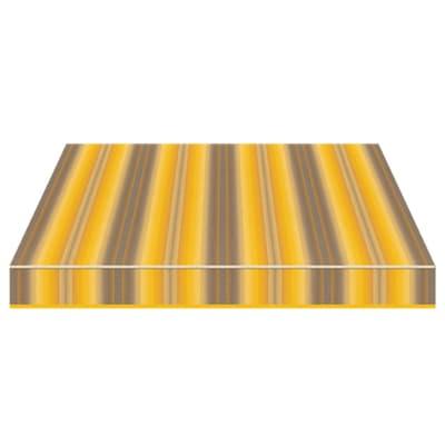 Tenda da sole a bracci estensibili manuale TEMPOTEST PARA' L 240 x H 210 cm giallo, grigio, beige Cod. 944/926