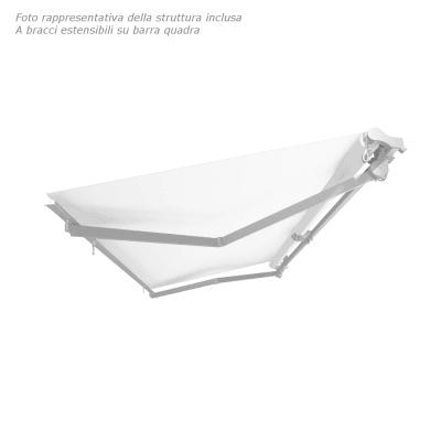 Tenda da sole a bracci estensibili manuale TEMPOTEST PARA' L 240 x H 210 cm avorio, bordeaux Cod. 5071/85