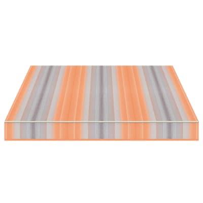 Tenda da sole a bracci estensibili manuale TEMPOTEST PARA' L 300 x H 210 cm arancione, azzurro Cod. 5001/26