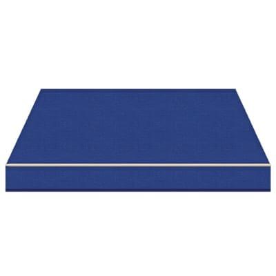 Tenda da sole a bracci estensibili manuale TEMPOTEST PARA' L 3.5 x H 2 m Cod. 10 blu