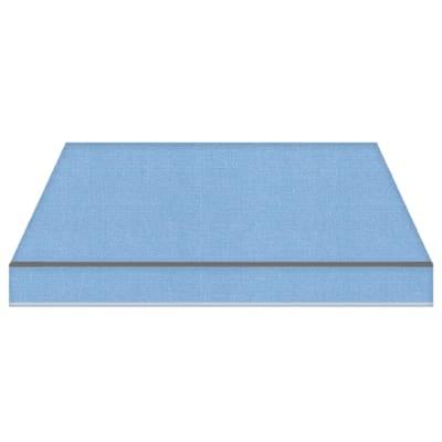 Tenda da sole a bracci estensibili manuale TEMPOTEST PARA' L 3.5 x H 2 m Cod. 17/15 azzurro