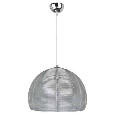 Lampadario Bering alluminio, in metallo, diam. 35 cm, E27 MAX60W IP20 INSPIRE