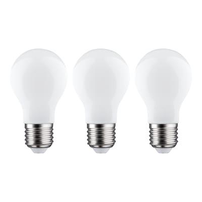Lampadina LED filamento E27, Goccia,  diffusore Opaco, col.luce Bianco, Luce fredda, 11W=1521LM (equiv 100 W), 360° , LEXMAN , set di 3 pezzi