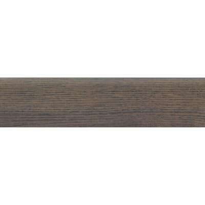 Battiscopa Wood Noce H 8 x L 33.3 cm marrone