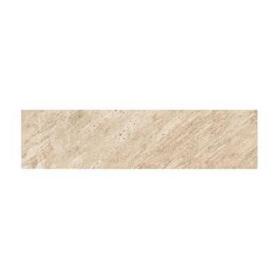 Battiscopa Discovery sunwood H 7.5 x L 30 cm beige