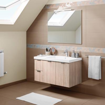 Mobile bagno Linea rovere L 95 cm prezzi e offerte online ...