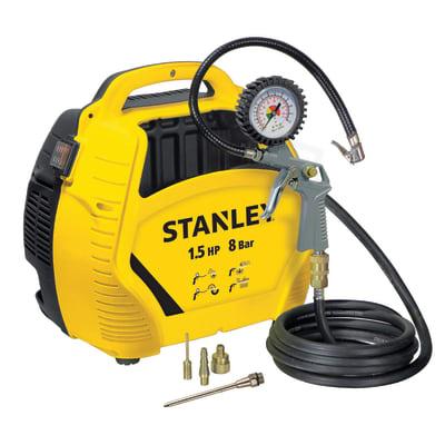 Compressore senza serbatoio STANLEY AIR KIT 1.5 hp 8 bar 0 L