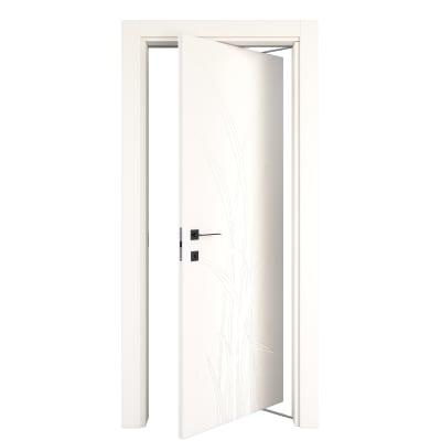 Porta rototraslante Blades White bianco L 70 x H 210 cm destra