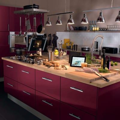 Cucina in kit DELINIA ruby bianco