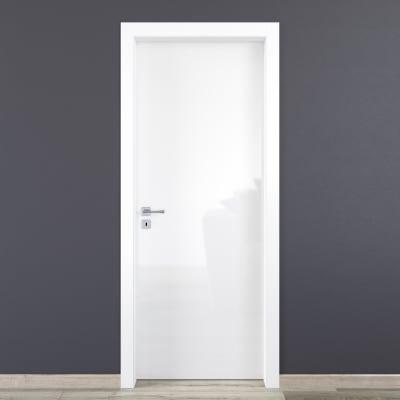 Porta a battente Bright bianco L 60 x H 210 cm reversibile