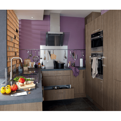 Cucina in kit DELINIA topaze bianco