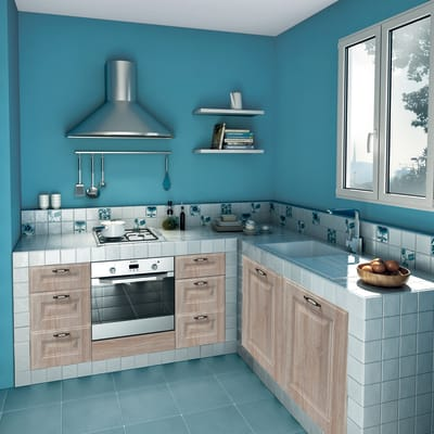 Cucina in kit DELINIA newcastle bianco