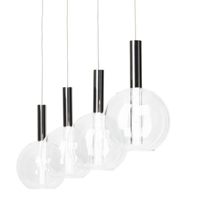 Lampadario Elegant cromo, in metallo, LED integrato 5W 2000LM IP20 BRILLIANT