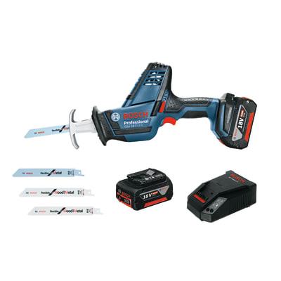 Sega a gattuccio a batteria litio (li-ion) BOSCH PROFESSIONAL GSA18V-LIC , 18 V