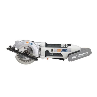 Mini sega circolare DEXTER POWER , 18 V Ø 85 mm, 0 Ah, senza batteria