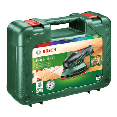 Multilevigatrice a batteria litio (li-ion) BOSCH EasySander , 12 V, 1 batteria