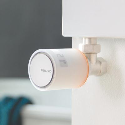 Kit termostato NETATMO INK102 con 5 testine e relé bianco