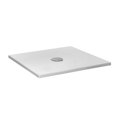 Piatto doccia ceramica Extra slim su misura 60 x 200 cm bianco