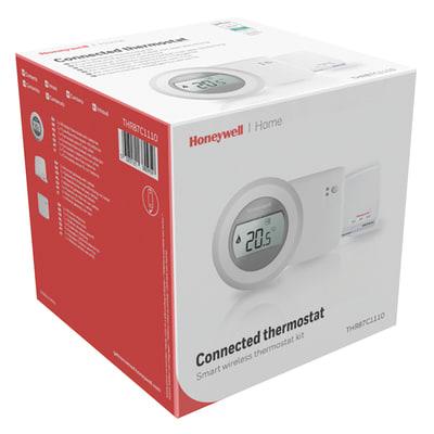 Termostato honeywell termostato wifi y87 round bianco for Termostato gsm leroy merlin