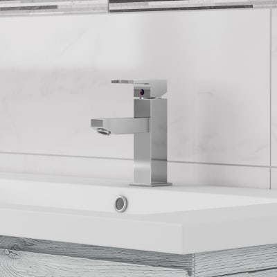 Mobile bagno Gola platino L 105 cm