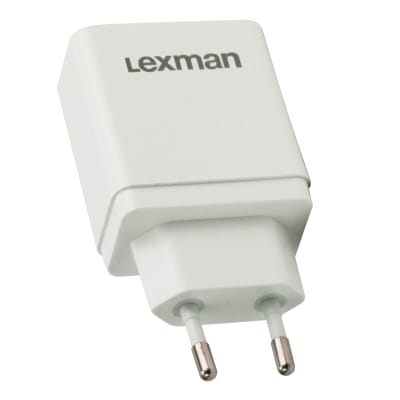 Adattatore LEXMAN da appoggio bianco
