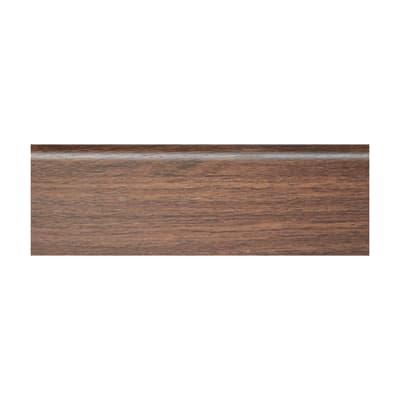 Battiscopa H 7 x L 250 cm marrone