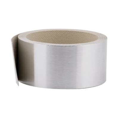 Bordo effetto metallo L 300 x H 4.5 cm