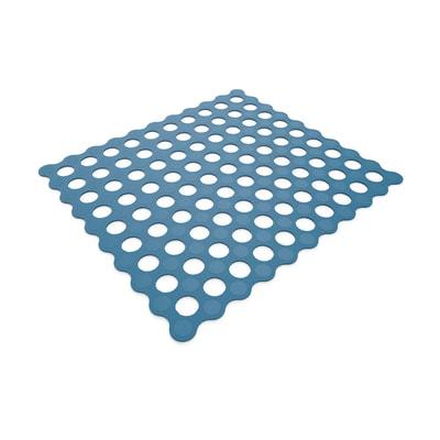 Tappeto antiscivolo Golf in pvc blu 54 x 52 cm
