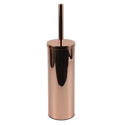 Porta scopino wc da appoggio Copper in metallo rame